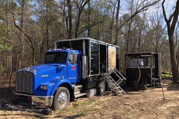 BR Truck in woods